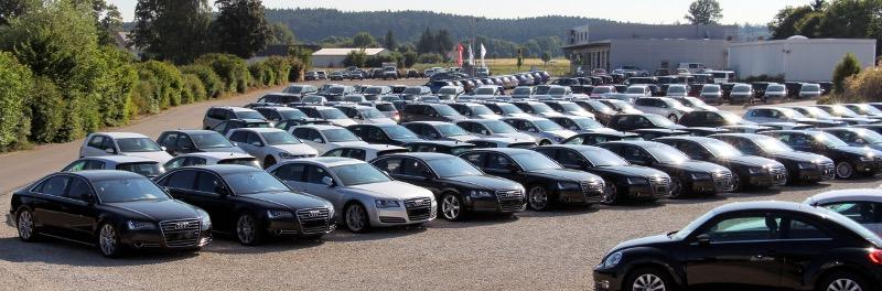 Grote aantallen import Auto